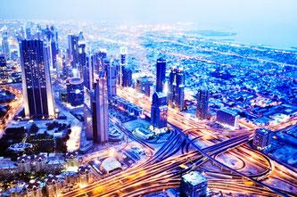 Дубаї вдень та вночі: два обличчя одного міста