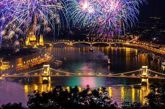 Новорічна казка в Будапешті