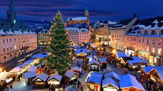 Різдвяна трійка: міста, де живе дух Різдва