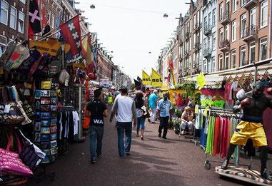 Albert Cuypmarkt ринок вуличний
