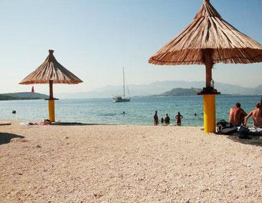 Slatine пляж