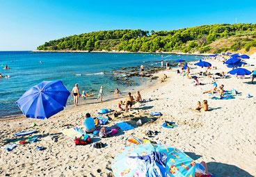Vela Przina пляж