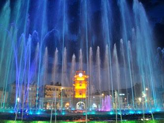 Танцюючий фонтан в Мармарісі