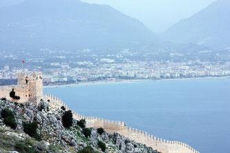 Фортеця Аланії в Туреччині