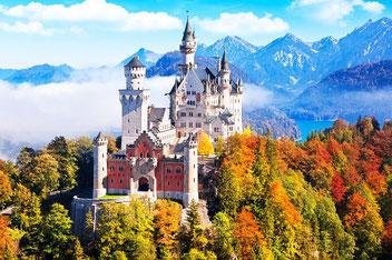 Нойшванштайн замок
