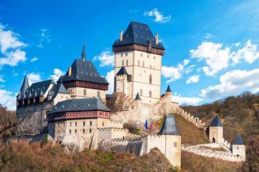 Прага Карлштейн замок