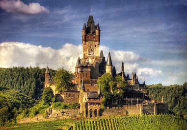 Кохем Райхсбург імперський замок