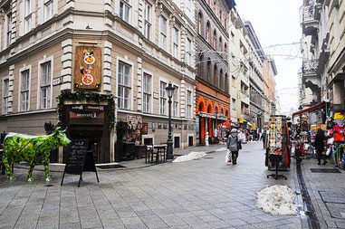 Будапешті в Ваци вулиця