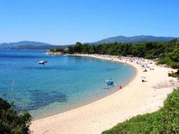 Халкідіки райський курорт Греція