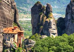 Метеори монастирі