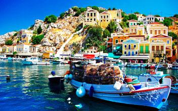Греції в відпочинок