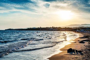 Греції з пляжів один