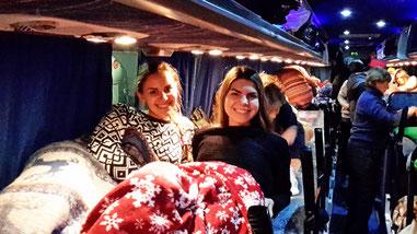 Переїзд в нічний автобусі