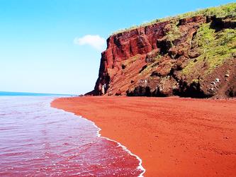 Акротірі пляж червоний