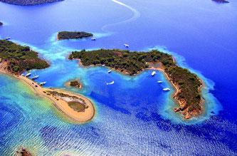 12 райських островів Фетхіє