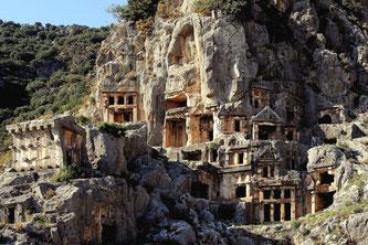 Лікійські гробниці Фетхіє
