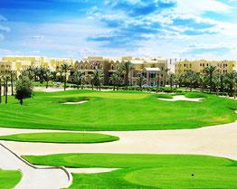 Бей поле Макаді для гольфу на курорті