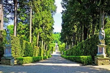 Флоренції в Сади Боболі