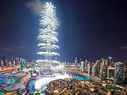 Дубаї новорічний феєрверк