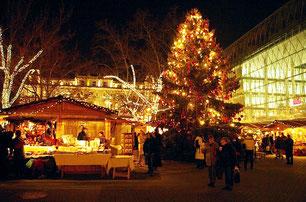 Свят новорічних Будапештом різдвяних прогулянка
