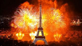 Париж рік новий