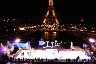 Париж каток