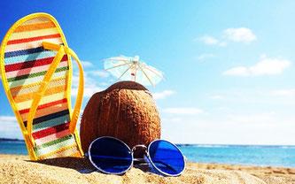 На морі літній відпочинок