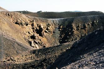 Санторіні Неа Камені вулкан