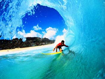 Мальдівах серфінг на