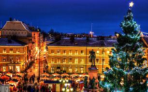Гельсінках в вечір різдвяний