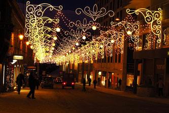 Санкт-Моріц різдвяний вечір