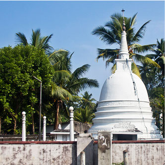Ваддува храм будистський на курорті