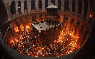 Єрусалим в Великдень