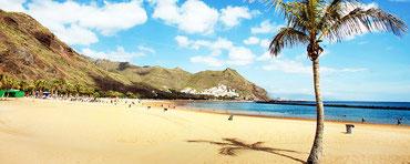 де лас Тересітас пляж