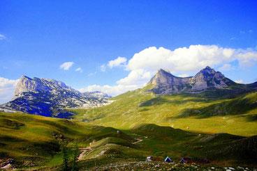 Чорногорії первозданна природа