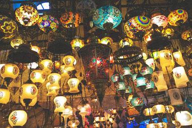 Лампи турецькі мозаїчні