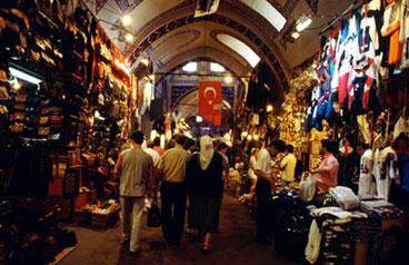 Туреччина шкіра в турецька базарі на