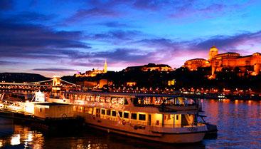 Будапештом вечірнім прогулянка на кораблику