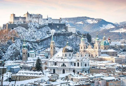 Зальцбург взимку