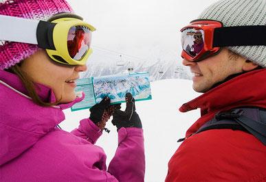Катання на лижах в Альпах