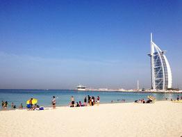 Дубаї Jumeirah Open Beach пляж