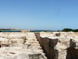 Макронісос гробниці скельні