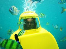 Скутері підводному прогулянка