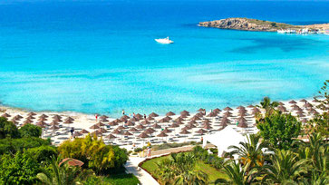 Пляжі на Кіпрі