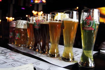 Празі в пива дегустація