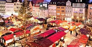 Амстердам різдвяний ярмарок в