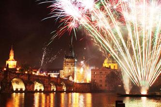Прага рік новий