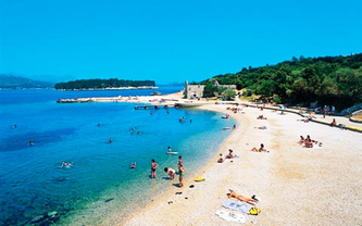 Лапад пляж Хорватія