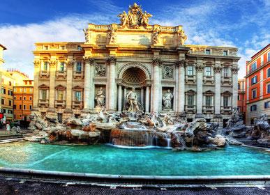 Римі фонтан в Треві