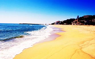 Золоті піски пляж